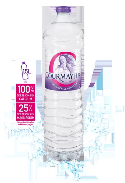 Bouteille Courmayeur 1,5L
